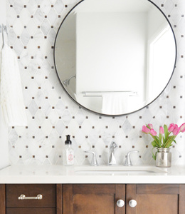 round mirror dot backsplash.jpg